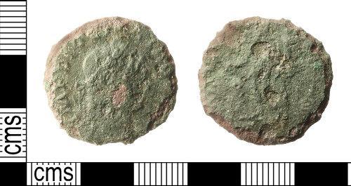 IOW-21DEDE: Roman Coin: Nummus of Diocletian