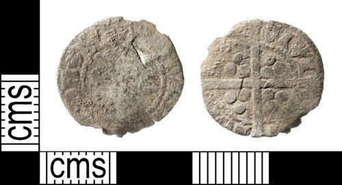 IOW-2558E0: Medieval Coin: Penny of Edward I