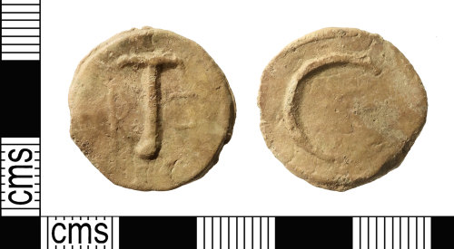 IOW-4C289A: Post-Medieval Lead Token