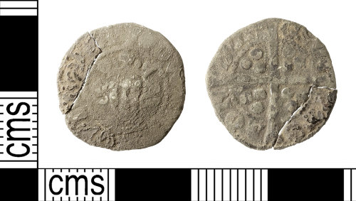 IOW-1C0192: Nedieval Coin: Penny of Edward I/II
