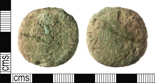 IOW-6CFEA4: Roman Coin: Sestertius of Antoninus Pius
