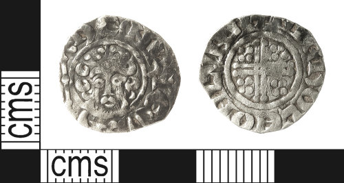 IOW-1C35BD: Medieval Coin: Penny of Henry III