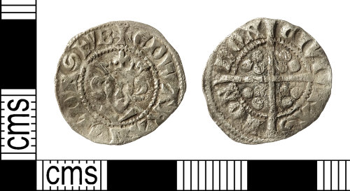 IOW-4FC630: Medieval Coin: Penny of Edward I
