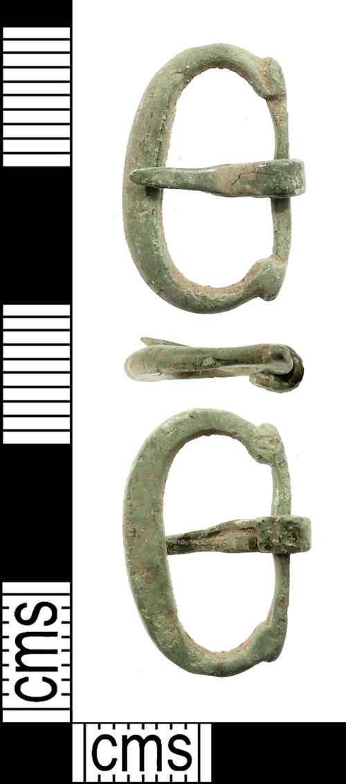 IOW-72A4FD: Medieval Buckle