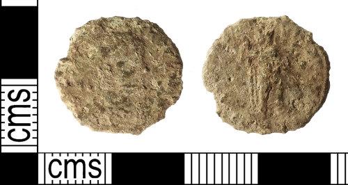 IOW-5563B2: Roman Coin: Nummus of Gratian