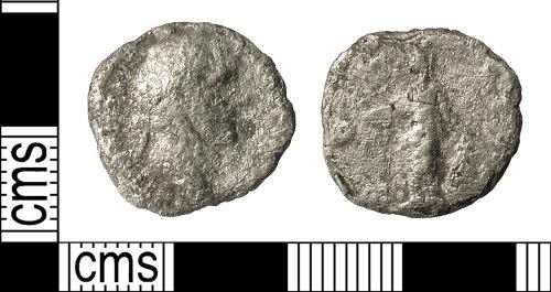 IOW-5E0862: Roman Coin: Denarius of Antoninus Pius