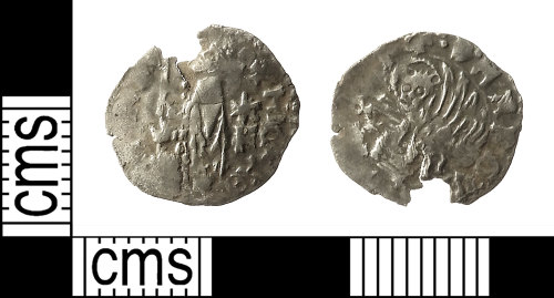 IOW-837B61: Medieval Coin: Venetian Soldino of Doge Michael Steno
