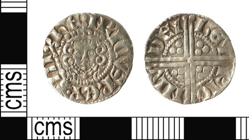 IOW-83CE05: Medieval Coin: Penny of Henry III