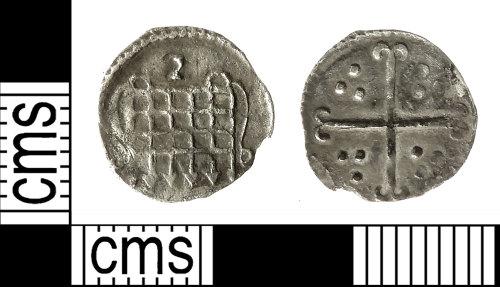 IOW-844224: Post-Medieval Coin: Halfpenny of Elizabeth I