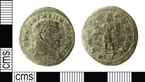 IOW-9479C8: Roman Coin: Nummus of Maximian I