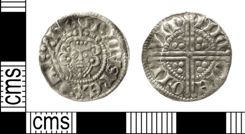 IOW-FD163F: Medieval Coin: Penny of Henry III