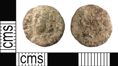 IOW-1364E3: Roman Coin: Possibly the Core of a Denarius, possibly of Julia Domna