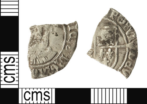 IOW-59E092: Post-Medieval Coin: Groat of Henry VIII