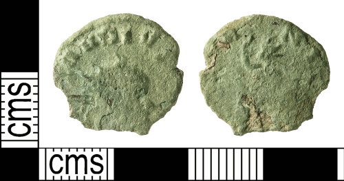 IOW-3A02A4: Roman Coin: Radiate of Claudius II