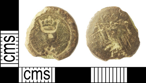 IOW-0D0399: Medieval or Post-Medieval Coin Weight