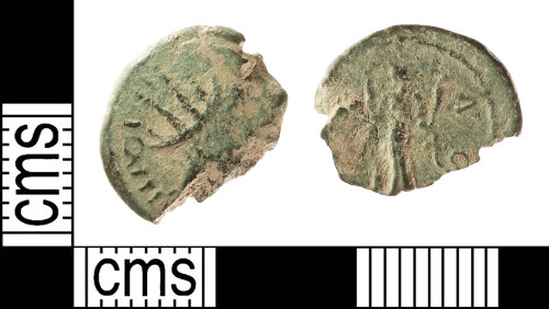 IOW-BE3935: Roman Coin: Barbarous Radiate