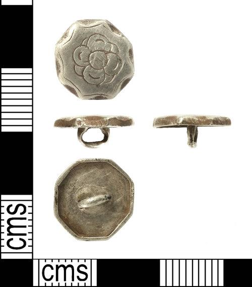 IOW-1E87F1: Post-Medieval Cufflink Element