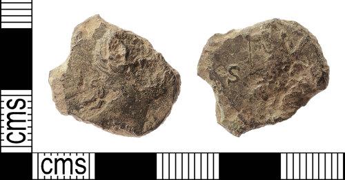 IOW-4FCB3C: Roman Coin: Dupondius of Hadrian