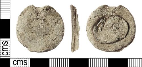 IOW-2D79A4: Post-Medieval: Cloth Seal