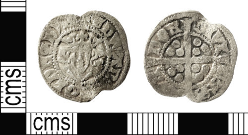 IOW-7215C7: Medieval Coin: Penny of Edward I
