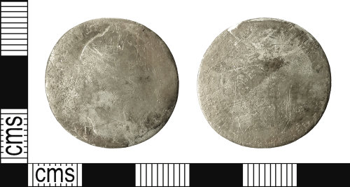 IOW-0DB367: Post-Medieval Coin: Shilling of William III