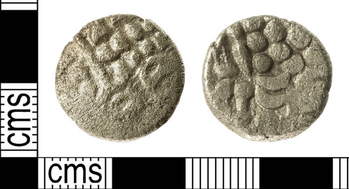IOW-DCBF91: Iron Age Coin: Uninscribed South-Western Stater of the Durotriges
