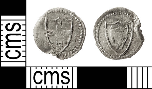 IOW-478ADD: Post-Medieval Coin: Commonwealth Halfpenny