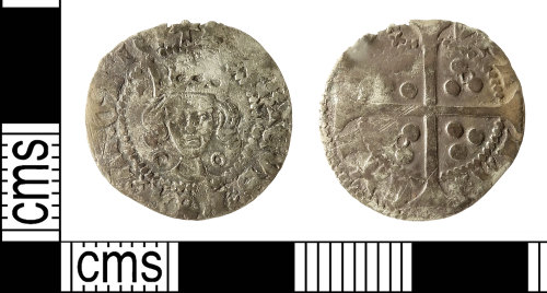 IOW-DD4ED3: Medieval Coin: Penny of Henry VI