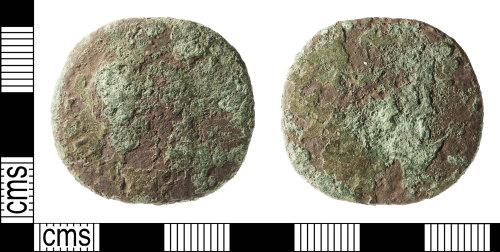 IOW-20A3C6: Roman Coin: Sestertius (uncertain 1st-3rd century ruler)