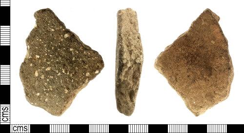 IOW-86FDA5: Roman: Grog Tempered Body Sherd