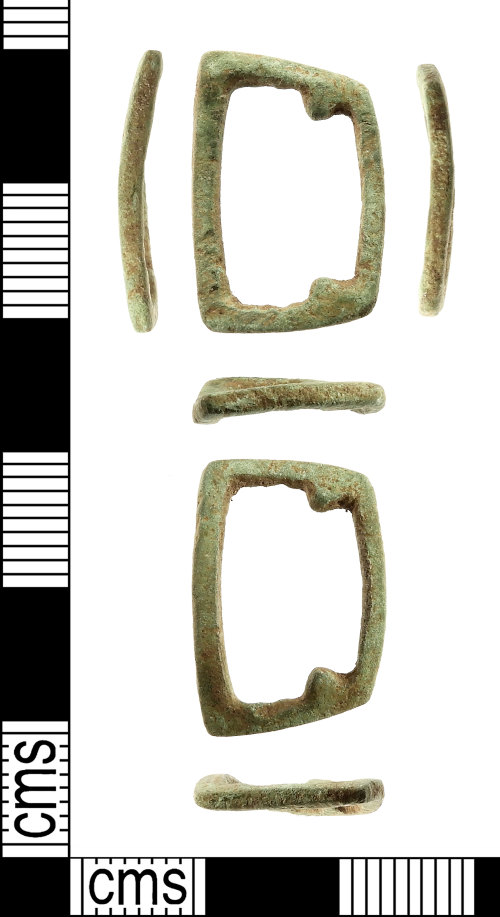 IOW-32C581: Medieval: Strap-fitting (strap loop)
