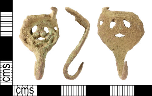 IOW-FF79AB: Post-Medieval: Dress-hook