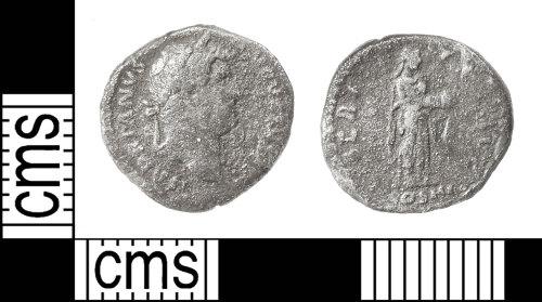 IOW-B4D7CD: Roman Coin: Denarius