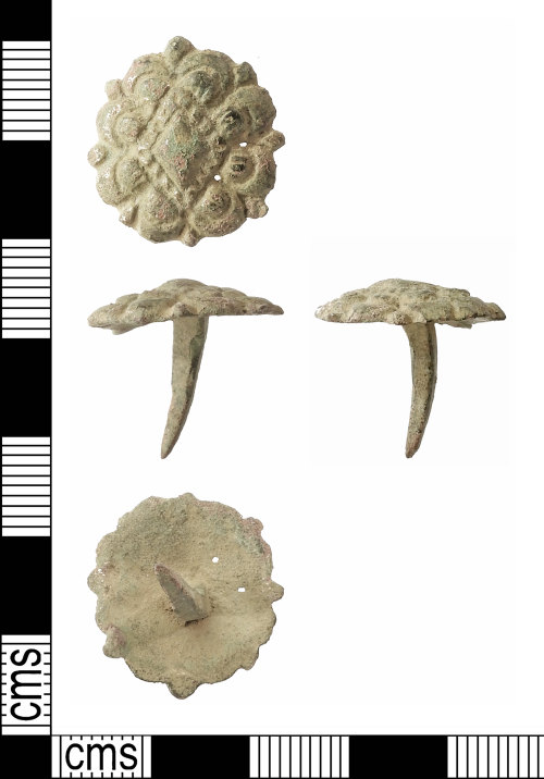 A resized image of Medieval to Post-Medieval: Mount or Stud
