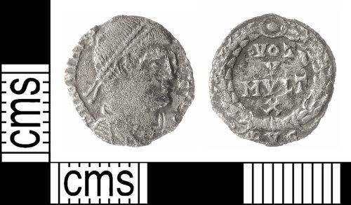 IOW-200FCD: Roman Coin: Siliqua of Jovian