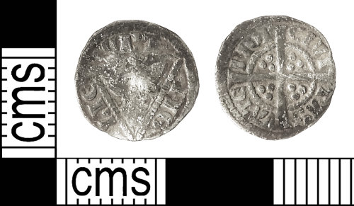 IOW-8AAE7E: Medieval Coin: Irish Farthing of Edward I