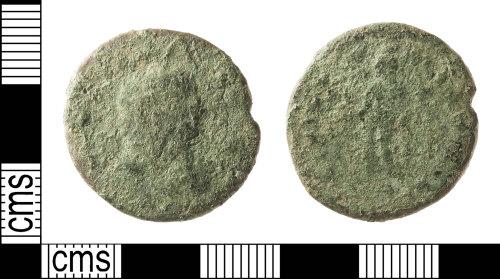 IOW-992F0A: Roman Coin: Nummus of uncertain Tetrarchic Ruler