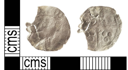 IOW-BAF347: Medieval Coin: Penny, probably of Edward IV