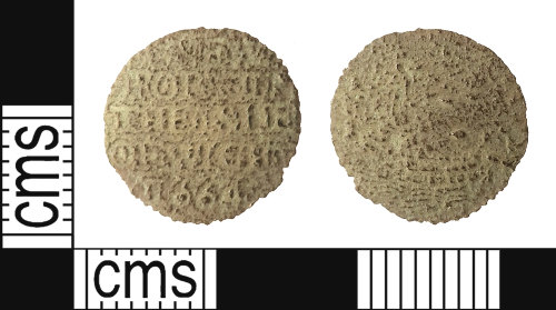 IOW-88A709: Post-Medieval: Token Farthing issued by the Corporation of Newport, Isle of Wight
