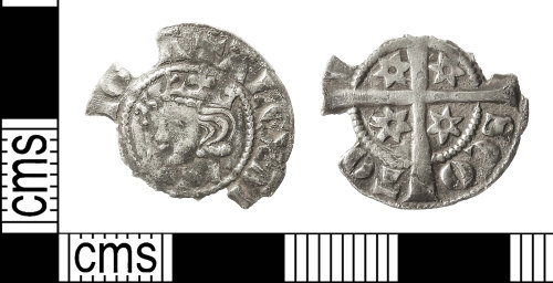 IOW-D7FC14: Medieval Coin: Penny of Alexander III of Scotland