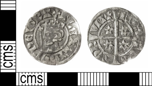 IOW-AE54F1: Medieval Coin: Penny of Alexander III of Scotland