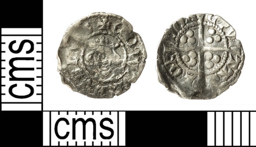 IOW-364CED: Medieval Coin: Farthing of Edward I