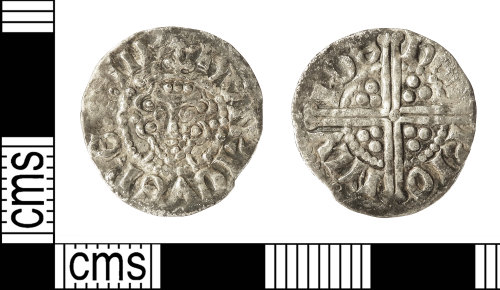 A resized image of Medieval Coin: Penny of Henry III
