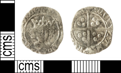 IOW-60E71C: Mediebal Coin: Penny of Edward IV