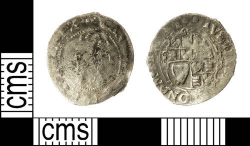 IOW-618BCA: Post-Medieval Coin: Penny of Charles I
