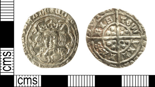 IOW-DD462A: Medieval Coin: Groat of Edward IV