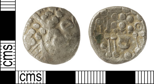 IOW-94DE6A: Iron Age Coin: Uninscribed South-Western Stater of the Durotriges