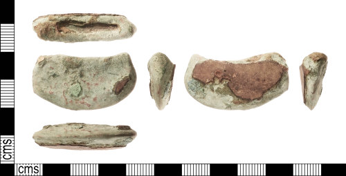 IOW-7A5F4E: Bronze Age: Socketed Axehead (fragment)