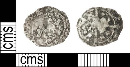 IOW-B33352: Medieval Coin: Irish Penny of Edward IV