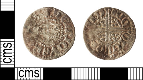 IOW-44C60D: Medieval Coin: Penny of Edward III